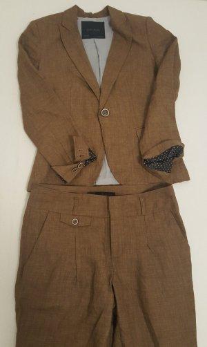 Zara Tailleur-pantalon bronze-brun