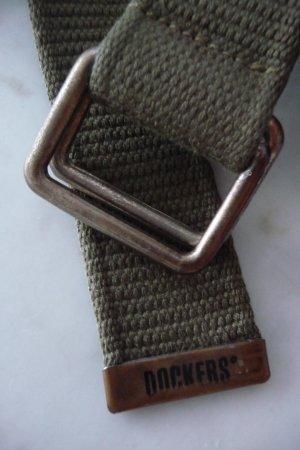 Dockers Ceinture en tissu kaki