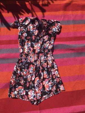 Robe Hippie noir-rose