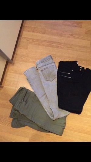 Hosenpaket Röhre H&M Jeans S 36/38