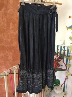 Culotte Skirt dark blue