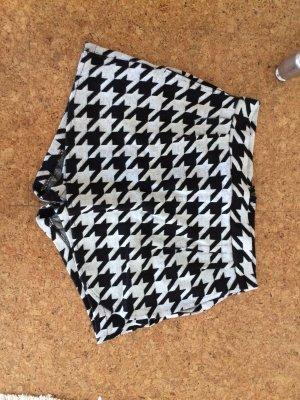Culotte Skirt black-white