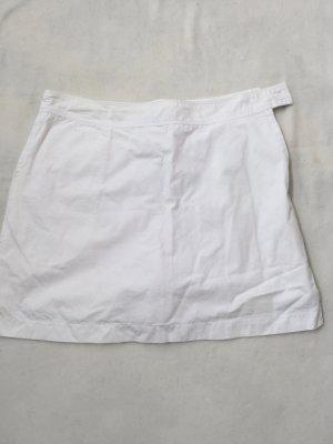 Culotte Skirt white cotton