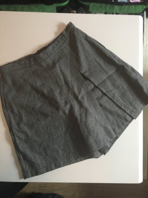United Colors of Benetton Skorts gris lana de esquila