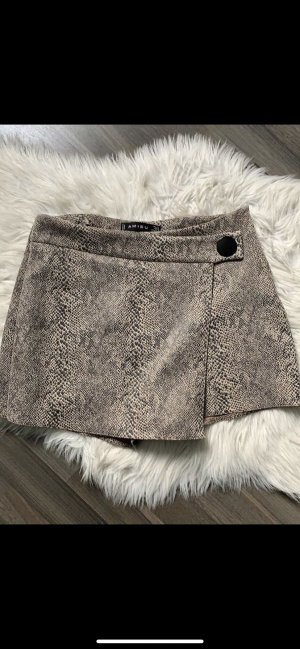 Zara Culotte Skirt beige-light brown