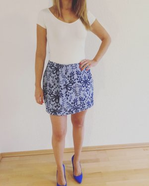 Culotte Skirt cornflower blue