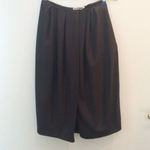 Jil Sander Culotte Skirt anthracite new wool