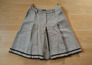Prada Culotte Skirt oatmeal-dark brown mixture fibre