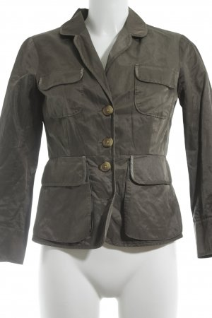 Hoss Intropia Blouse Jacket green grey casual look