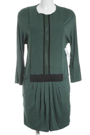 Hoss Intropia Etuikleid waldgrün-schwarz Casual-Look