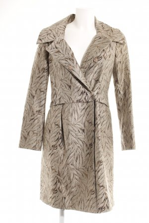 Hoss Intropia Frock Coat beige-bronze-colored allover print elegant