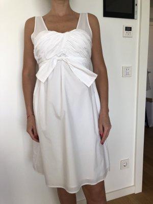 Hoss Intropia Babydoll-jurk wit