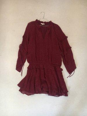 Hoss Intropia Kleid Bordeaux metallic