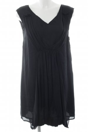 Hoss Intropia Kurzarmkleid schwarz schlichter Stil