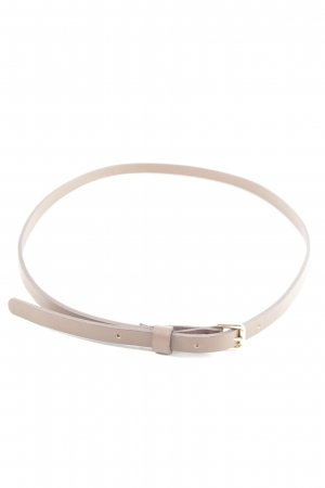 Hoss Intropia Leather Belt natural white business style