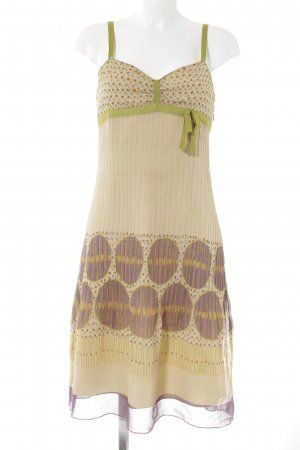 Hoss Midi Dress abstract pattern casual look