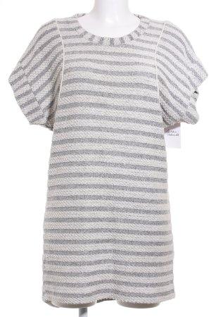 Hoss Robe en maille tricotées blanc-gris clair style décontracté