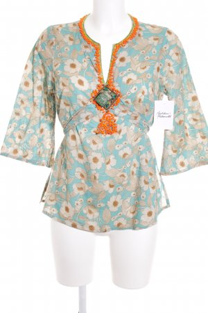Hoss Tunikabluse florales Muster Gypsy-Look