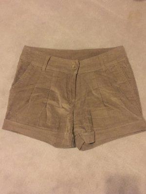 Pantalón corto color bronce