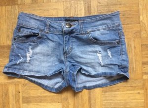 Only Shorts azul celeste-azul