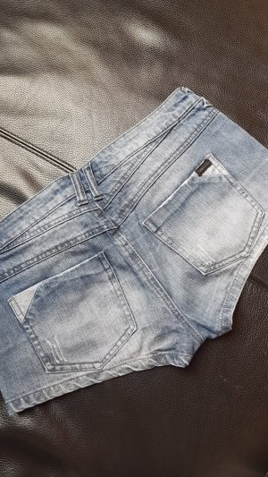 Only Hot pants blauw