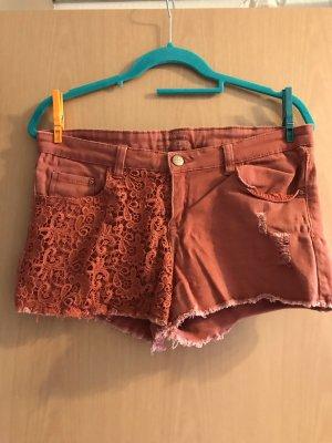 Esmara Shorts dark orange-bright red
