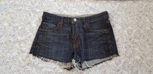 Hot Pants H&M dunkelblau