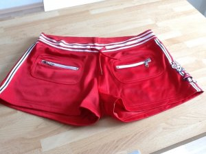 Hot Pants in knallrot von Kenvelo in Gr. M