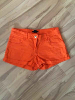 Hot Pants in Orange Größe 36 *NEU*