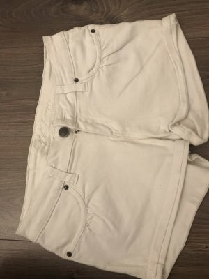 Hot pants in weiß