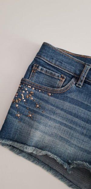 Abercrombie & Fitch Hot Pants dark blue