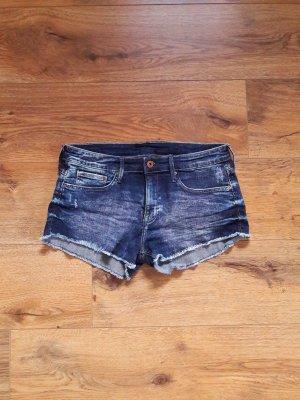 Hot Pants Jeans Shorts blau Gr. 36