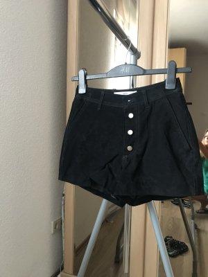 Hot pants Leder Mango Neu