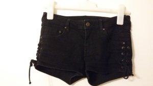 Hot Pants mit Schnürung