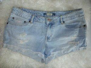 Hot Pants Pull&Bear hellblau Größe 38