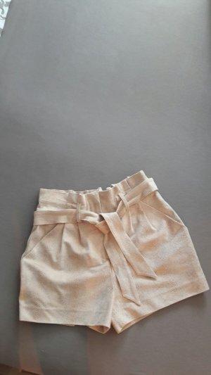 Hot Pants Short mit Print und Gürtel von Tom Tailor Contemporary