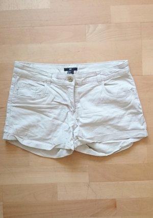 Hot Pants Shorts beige nude 36 38 S
