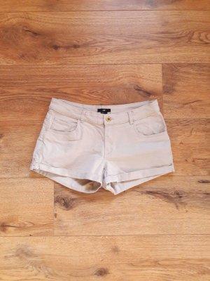 H&M Short moulant beige clair-gris clair