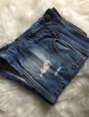 Hot Pants Shorts Jeans blau Only XS 34