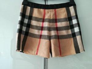 Hot Pants Shorts Karo British Wolle Gr. 34