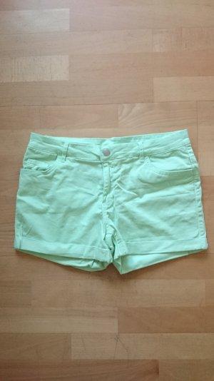 Hot Pants Shorts mint hell grün 34 36 XS S