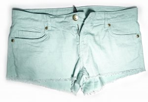 Hot Pants von Denim Co. in Mintgrün