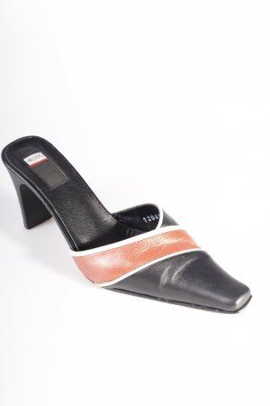 Hotic sandals black-red