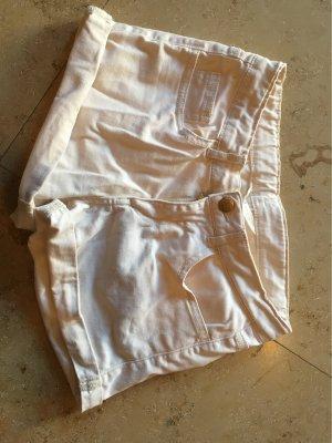 H&M Short moulant blanc cassé