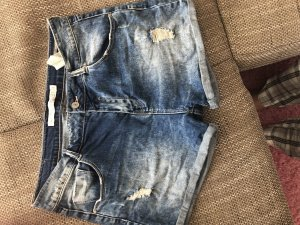 Zara Shorts steel blue