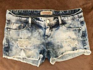 Hot Pants blue-light blue