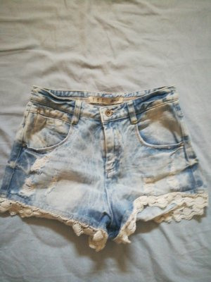 Denim Co. Short moulant bleu-bleu azur