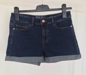 Noisy May Denim Shorts dark blue