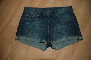 H&M Hot pants donkerblauw