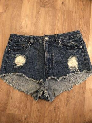 Hotpants blau